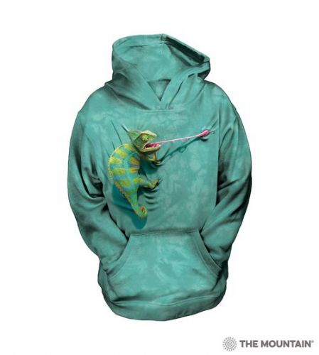 Climbing Chameleon - Kids Hoodie - The Mountain®